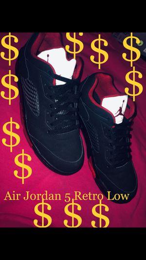 Jordan Air Jordan 5 Retro Low MENS SIZE10 LIKE NEW !!!!NO BOX!!!! for Sale in Lynwood, CA