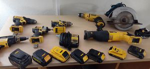 Dewalt & Makita 20v tool lot (will seperate) for Sale in NO FORT MYERS, FL