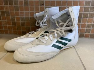 Adidas Box Hog x Special Men's Boxing Shoes White Green BC0354 New Size 13 for Sale in Seattle, WA
