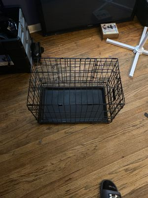 Top paw folding crate for small dogs for Sale in Philadelphia, PA