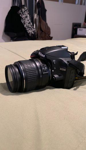 Camera Nikon D3200 w/accessories for Sale in Bellmawr, NJ