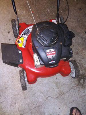 Mtd push mower for Sale in Seffner, FL