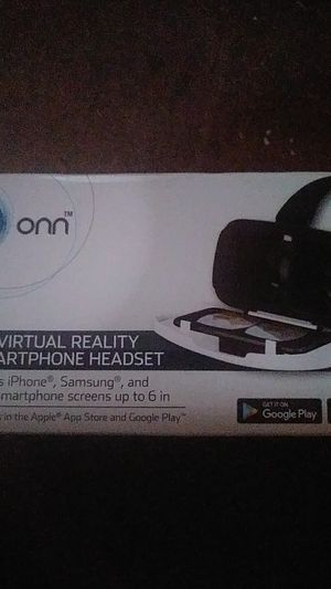 Onn 3d headset with wireless remote control for Sale in Pueblo, CO