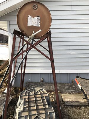 Gravity fuel barrel for Sale in Rochester, MN