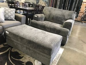 Ashley Furniture Chair with Ottoman for Sale in Garden Grove, CA