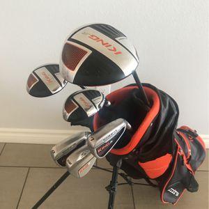 King Cobra Ricky Fowler Jr. Golf Club Set for Sale in Rancho Cucamonga, CA