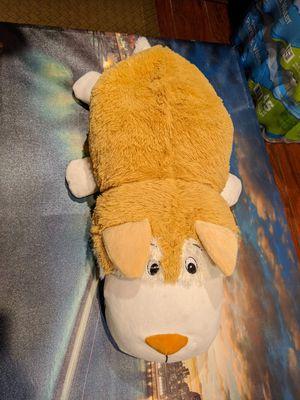 New jumbo stuffed animal flipazoo 32 inch 2 in 1 convertible pillow for Sale in Las Vegas, NV