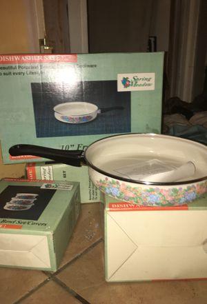 Dishwasher Safe Porcelain Enamel Cookware Sets for Sale in Valdosta, GA