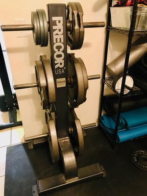 PRECOR Weight Tree & Weights for Sale in GLMN HOT SPGS, CA