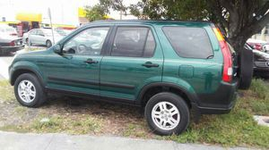 2002 honda crv..sunroof...clean title for Sale in Miami, FL