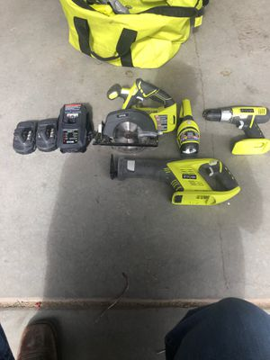 Ryobi battery powered combo kit for Sale in Iona, ID