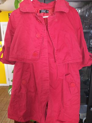 Woman's Red Coat Size S for Sale in Los Angeles, CA