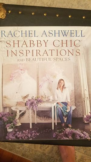 Book : Shabby Chic Inspirations and Beautiful Spaces by Rachel Ashwell for Sale in Virginia Beach, VA