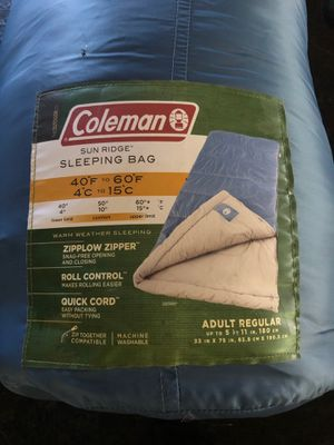 Sleeping 😴 Bag. Coleman for Sale in Rancho Cucamonga, CA