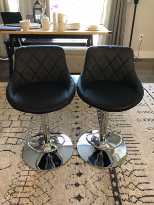 Set of 2 barstools for Sale in Bloomfield, NJ