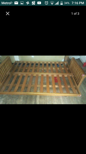 Wooden couch bed for Sale in Chevy Chase, MD