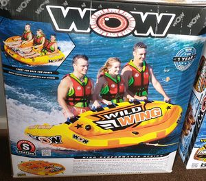 Brand new wow wild wing 3 person towable for Sale in Perris, CA