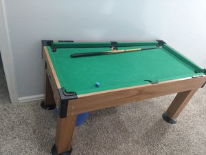 *** Teen size pool table/fooz ball / ping pong/bowling**** for Sale in Aurora, CO