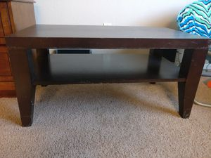 Coffee table and wooden Stoll for Sale in Phoenix, AZ
