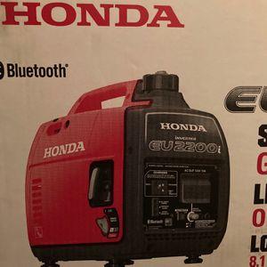Honda Eu2200i Generator for Sale in Lake Worth, FL