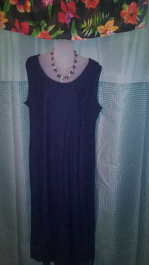 Kate and Mallory Lace Navy Dress for Sale in Dracut, MA