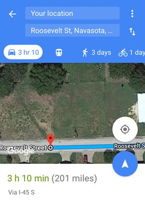 Lot/ Lote land for Sale in Navasota, TX