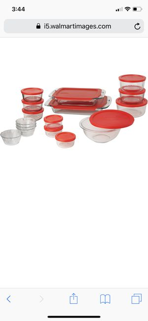 Pyrex 28 Piece Set New Sealed for Sale in Riverside, CA