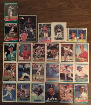 BASEBALL CARD COLLECTION LOT OF 24 CARDS VINTAGE NOLAN RYAN AND MORE! for Sale in Orlando, FL