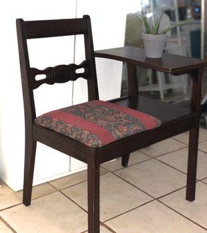 Antique Solid Wood Desk Chair for Sale in Marietta, GA