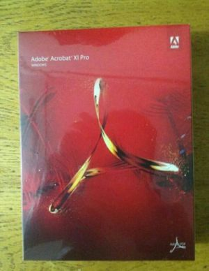 Adobe Acrobat XI Pro for Sale in Detroit, MI