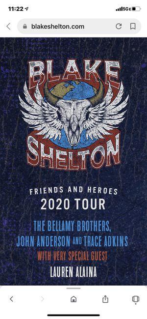 Blake Shelton tickets for Sale in Glendale, AZ