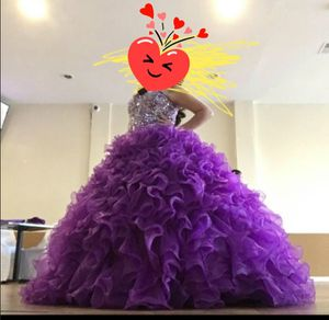 Size 14 Quinceanera or Prom Dresss Adjustable size up or down back is a tie for Sale in Chicago, IL