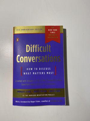 Difficult Conversation for Sale in Boston, MA