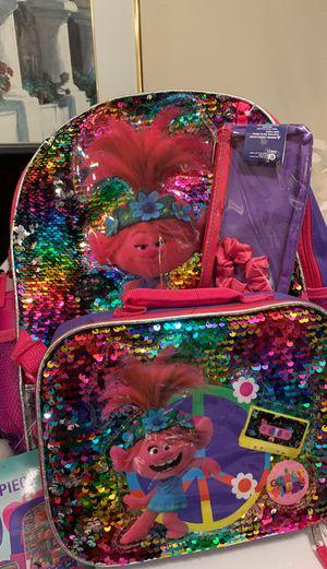 Troll Backpack 5piece Setting for Sale in El Cajon, CA