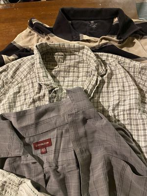 Men's Large shirts (7) for Sale in Fort Worth, TX