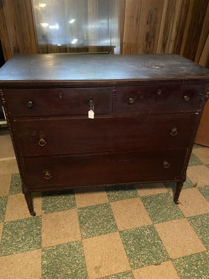 Antique dresser4ft for Sale in Parma, OH