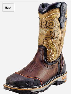 "New work toro boots steel toes/Toro Bravo TRC3P 10"" Brown Boots for Sale in Villa Park, IL"
