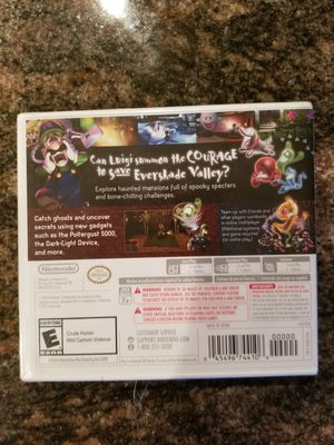 Luigi's mansion dark noon- Nintendo 3ds for Sale in Las Vegas, NV