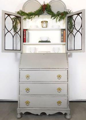 Farmhouse Style Secretary Desk / Hutch for Sale in Denver, CO