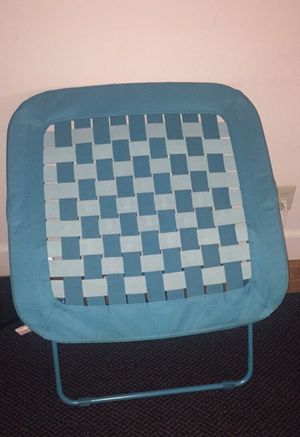 Blue chair brand new - for Sale in Medford, MA