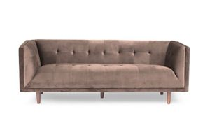Pink Velvet Chestfield Sofa for Sale in Brooklyn, NY
