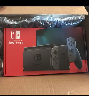 Nintendo switch last all black one $380 for Sale in Fresno, CA