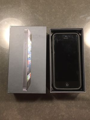 iPhone 5, 16GB, Unlocked for Sale in Seattle, WA