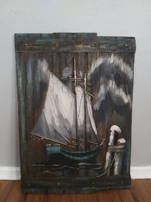 Old ship painting for Sale in Knoxville, TN