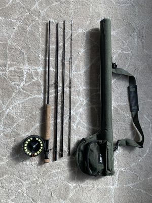 Fly Fishing Setup Grey's 4-piece 9' 8wt Rod, Sage 2280 Reel, Line, Protective Case for Sale in Seattle, WA
