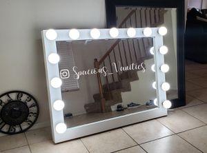 XXL 36x44 makeup vanity mirror. for Sale in Beaumont, CA