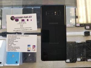 Unlocked Black Galaxy Note 8 64gb for Sale in Melbourne, FL