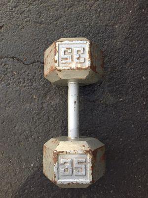 35 LB dumbbell for Sale in Scottsdale, AZ