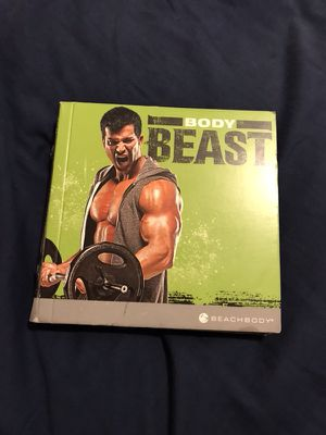 Body beast workout program for Sale in Houston, TX