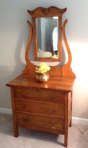 Golden Oak Dresser for Sale in West Palm Beach, FL